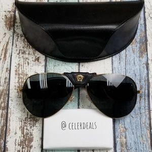 Versace Mod. 2150-Q Gold Women's Sunglasses/VIM229